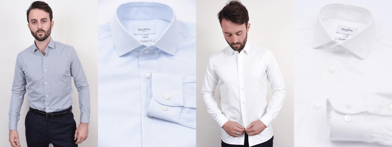 Chemises habillées GIOTHO à 79€ coupe ajustée
