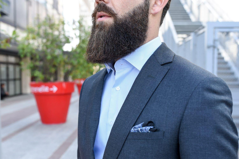 Chemise habillée GIOTHO: le col se tient parfaitement pour un rendu élégant