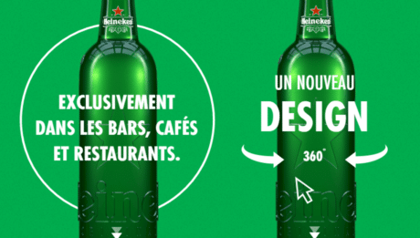 Nouvelle bouteille FOBO Heineken