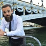 Look homme: fin de journée en bord de Seine