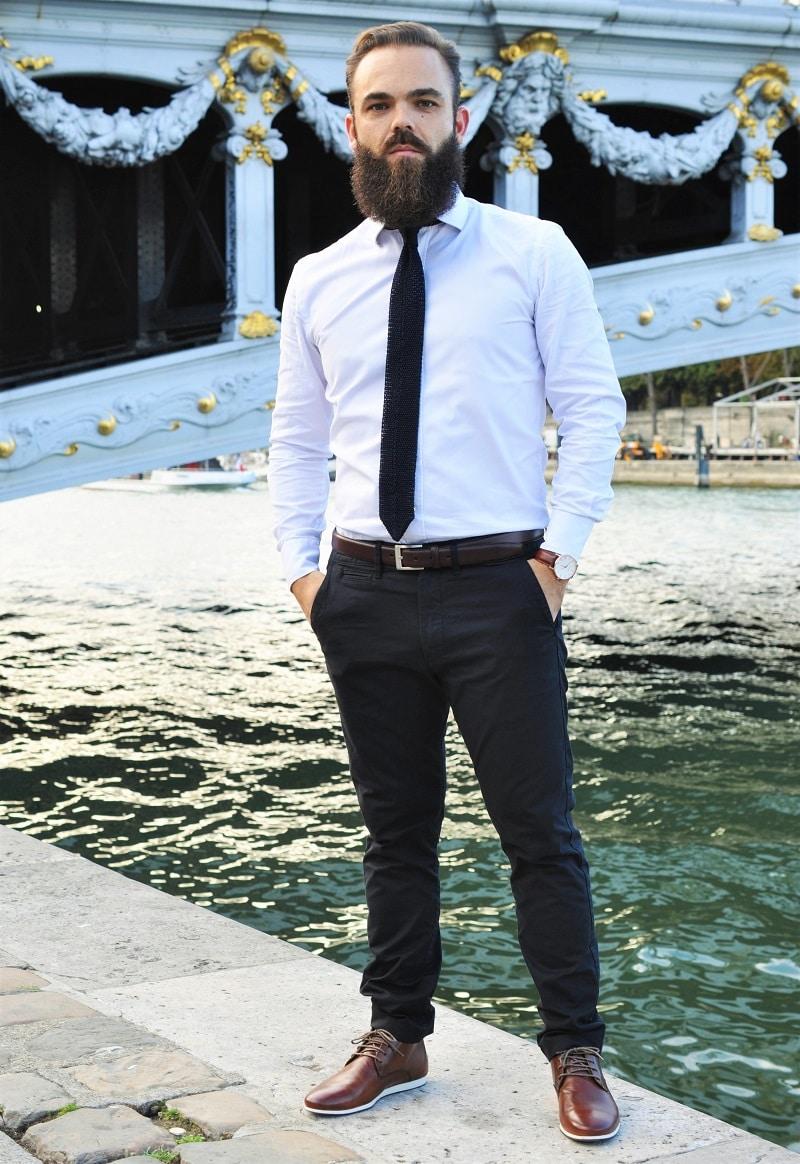 Favorit Look homme: fin de journée en bord de Seine - L'Homme Tendance LD12
