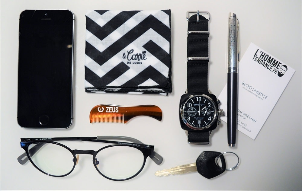 Outfitgrid avec stylo plume Waterman