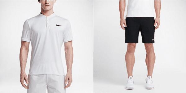 tenue de tennis nike homme
