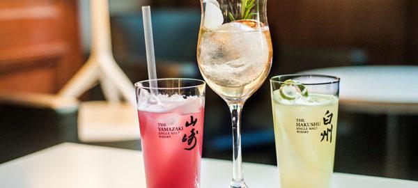 Cocktails à base de whisky japonnais Suntory