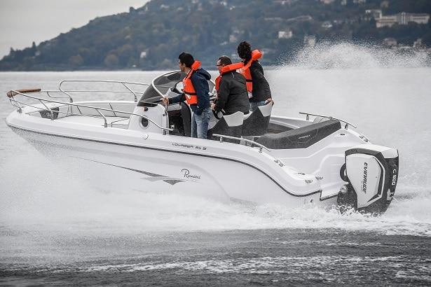 Bateau Ranieri International Voyager21s