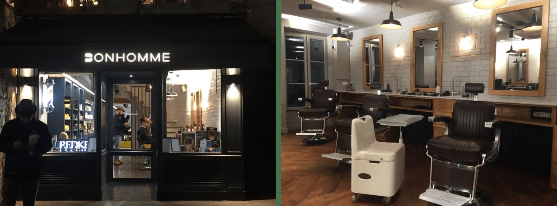 Barbershop à Paris Bonhomme