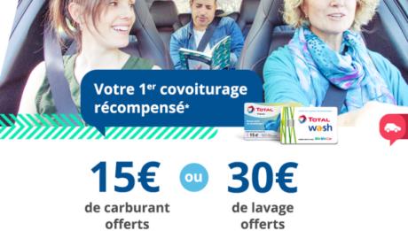 Covoiturage: prime Blablacar et Total pour les nouveaux conducteurs