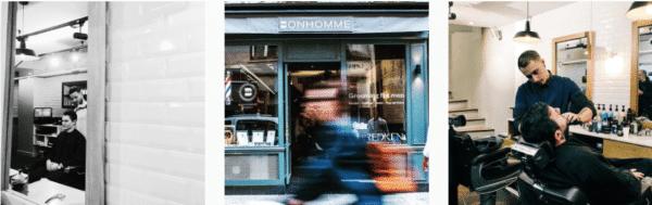 Bonhomme barbershop Paris