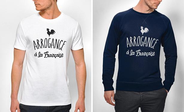 T-SHIRT ET SWEAT ARROGANCE À LA FRANÇAISE