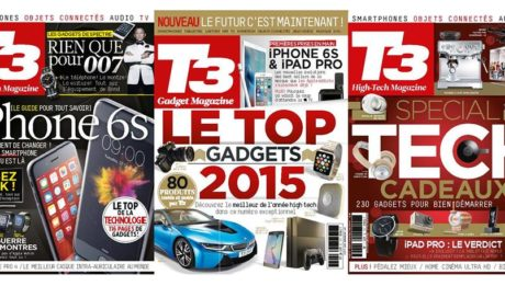 Couvertures T3 magazine high Tech et Lifestyle