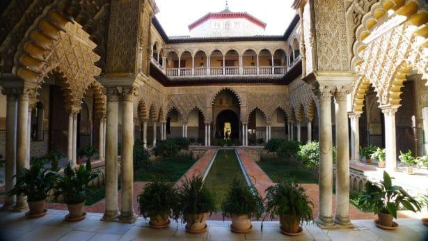 L'Alcazar de Séville - idées week-ends hors de paris