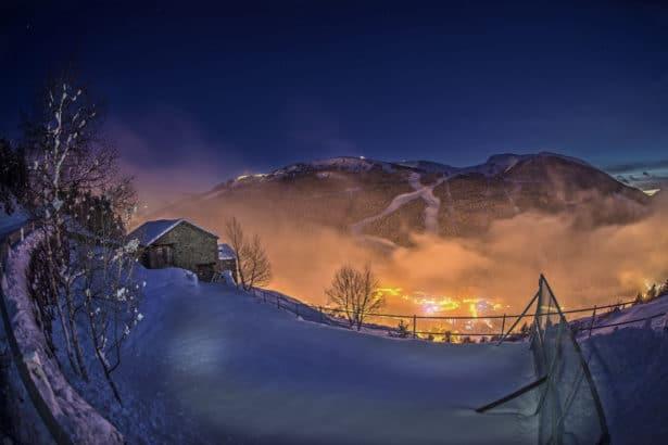 Une nuit romantique andorre