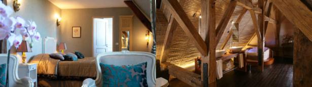 Chambre et Salle de Bain de Château idées week-ends hors de paris