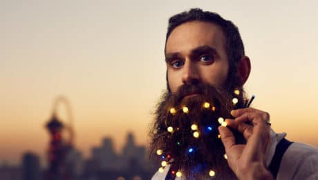 Guirlande lumineuse pour barbe