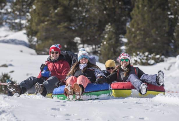 snow-tubing andorre