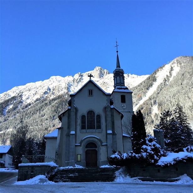 Petite église de Chamonix