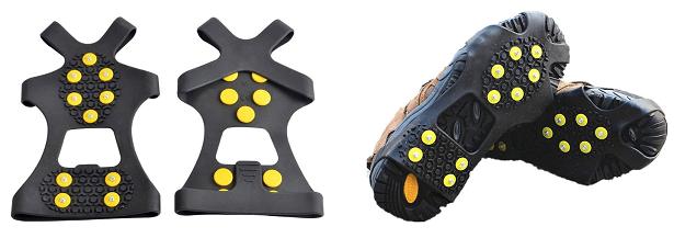Crampon Antidérapent, EONPOW Walk Sur-chaussure Antidérapante