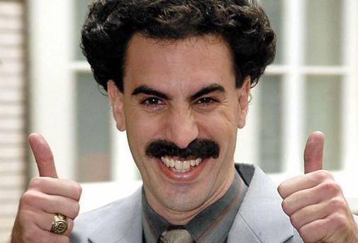 Moustache de Borat