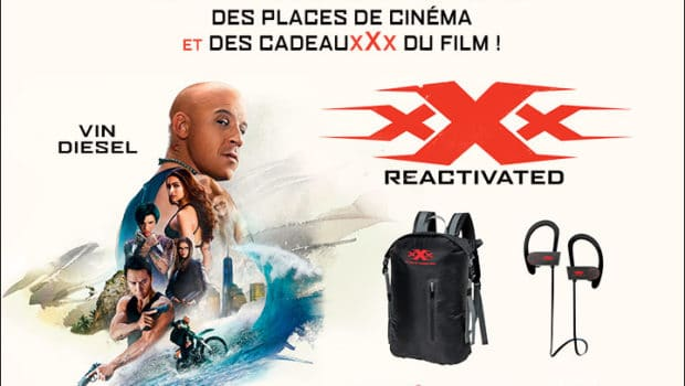 Grand jeu concours xXx : REACTIVATED le film