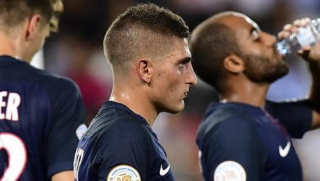 Paris Saint-Germain Marco Verratti / AFP PHOTO / FRANCK FIFE