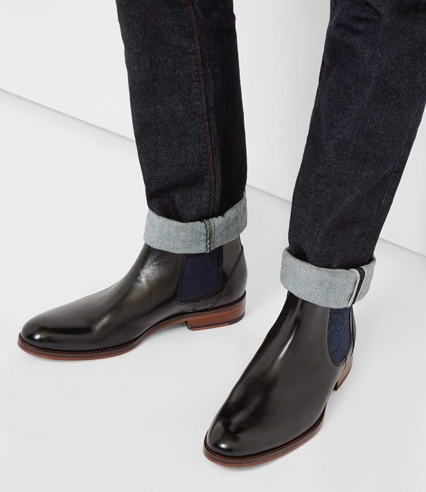 9f76bf4aa192 Jeans slim avec des Chelsea Boots homme Ted Baker