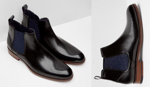 Chelsea boots en cuir Noir pUYgzccVJ