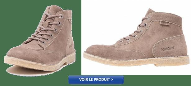 ORILEGEND - Bottines à lacets Kickers en vente