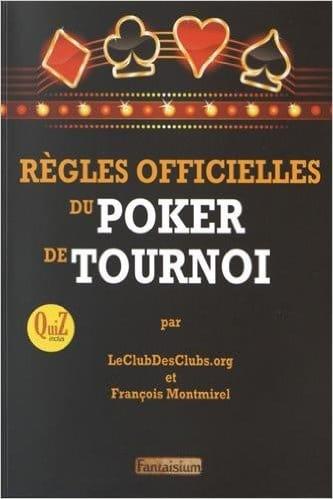 Règles officielles du poker de tournoi
