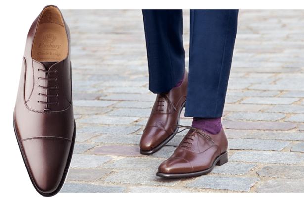 Chaussures Richelieu CONSUL MARRON