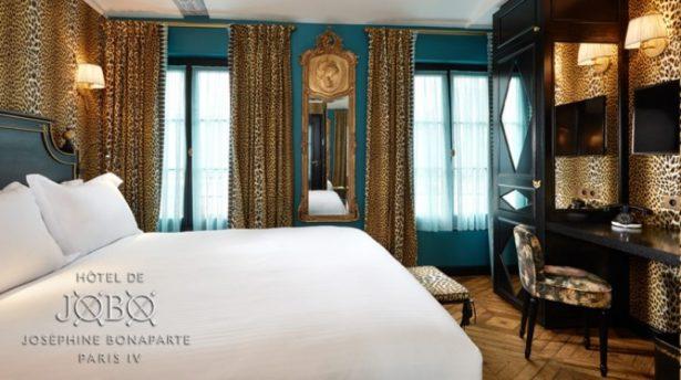 Hôtel de JoBo - Chambre style Léopard