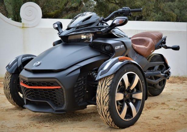 Spyder Can-Am noir F3-S