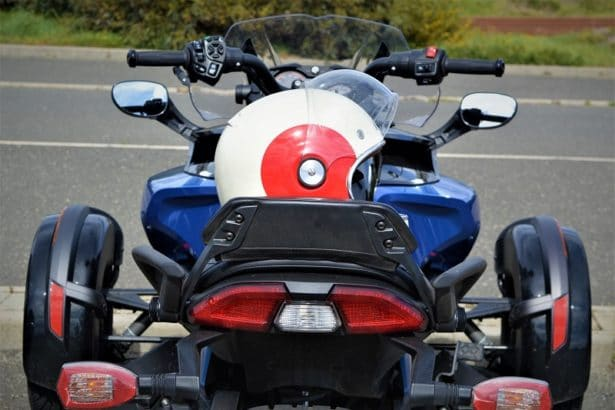 Can-Am Spyder F3-S Bleu