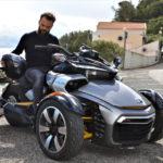 Can-Am Spyder: moto à 3 roues testée sur les routes Portugaises