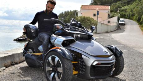 Can-Am Spyder: moto à 3 roues