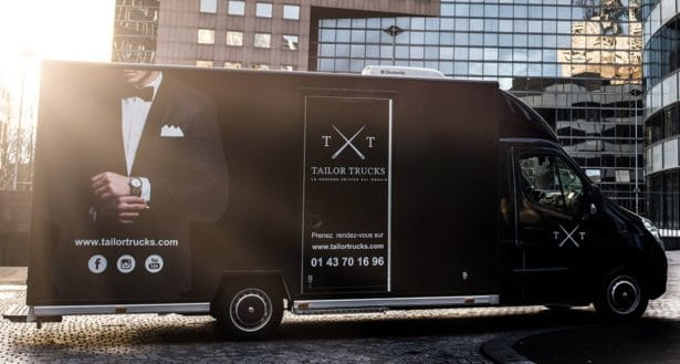 Camion Tailor Trucks: boutique mobile tailleur sur-mesure