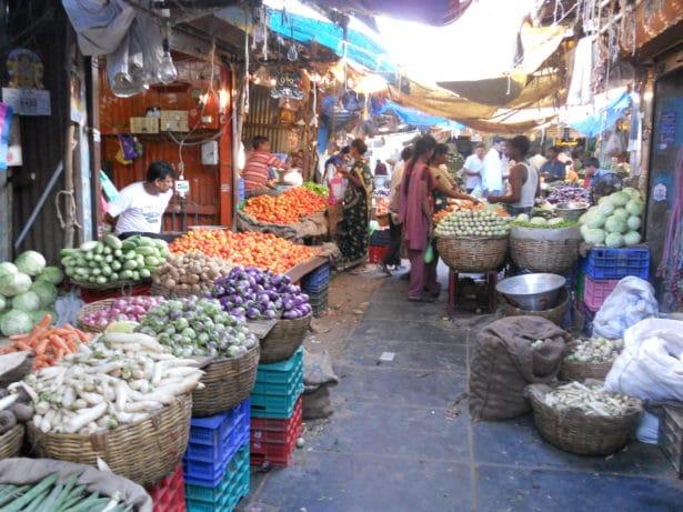Le marché de Pondy