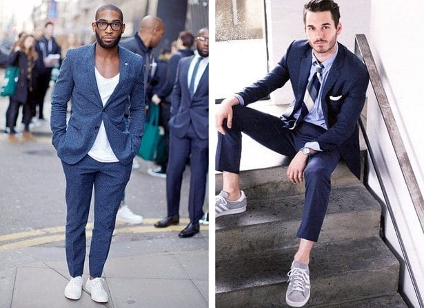 Sneakers et look casual chic  l\u0027élégance fine au masculin