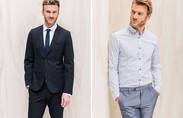 Veste et chemise quand on est invité à un mariage