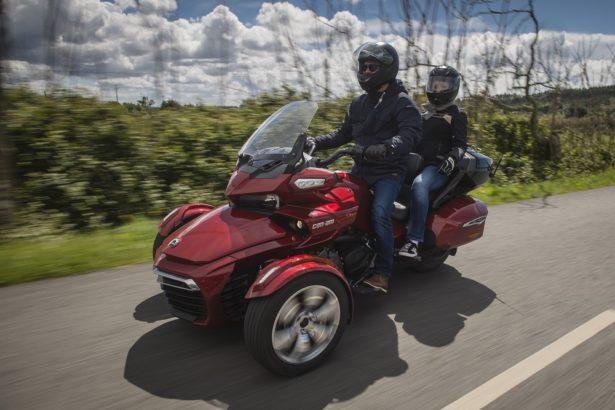 Balade en Can-Am Spyder sur les routes Portugaises