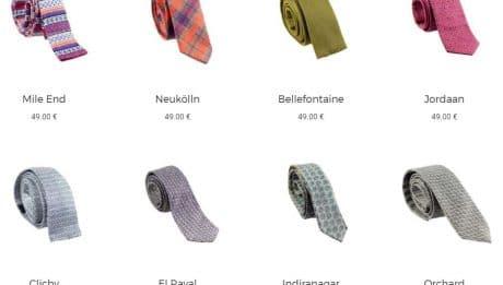 Yikes cravates françaises