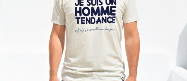 tshirt homme tendance collection capsule
