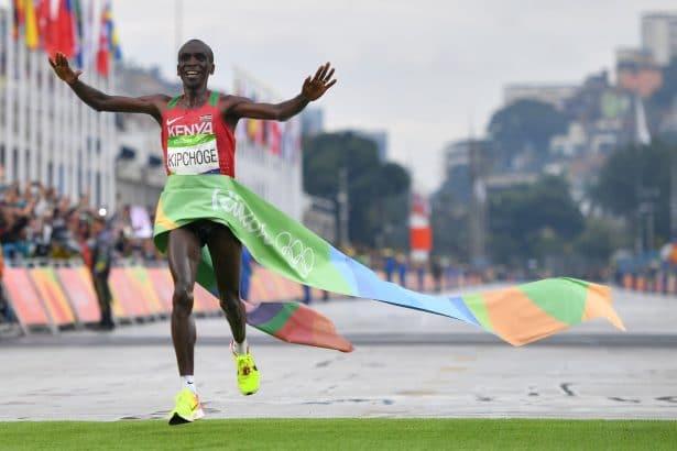 Eliud Kipchoge, champion Olympique à Rio !