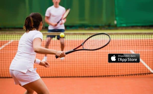 TIE BREAK est une application mobile 100% gratuite qui vous permet de trouver des partenaires de tennis et d'organiser des parties avec vos amis.