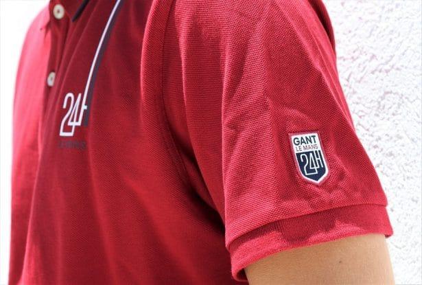 Polo de rugby GANT x Le Mans en coton piqué avec écusson