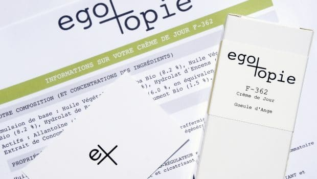 Egotopie, les cosmétiques sur-mesure