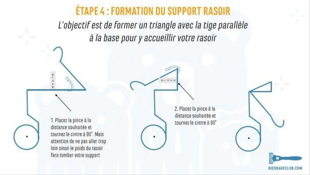 Etape 4 - Support Rasoir