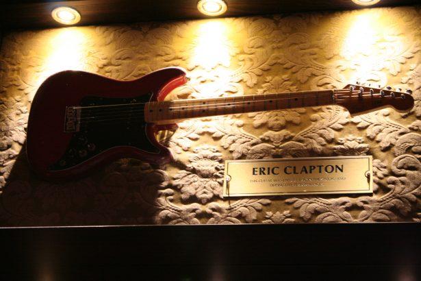Guitare Eric Clapton Hard Rock Café