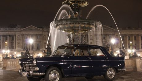 Peugeot 404 de 1963 - Crédit photo parisbalade