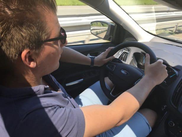 Un voyage paisible en Ford Kuga