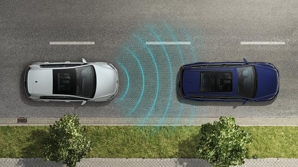 Assistance pré-collision et maintient des distances de sécurité